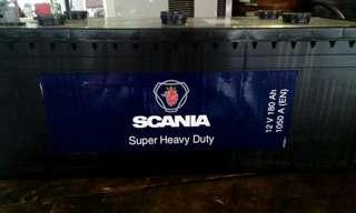 Scania battery 12v