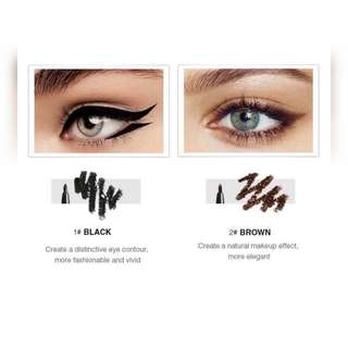 💌 FREE Normal Mail † (INS) Menow Modern Twist Kajal Liner Eyeliner Available in  Brown and Black