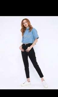 7/8 boyfriend jeans