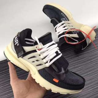 NIKE x OFF WHITE AIR PRESTO THE TEN OW 限量聯名 魚骨 襪套 耐克王