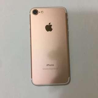 iphone7 32gb rose gold 玫瑰金 98%new iPhone 7 (7 002) 出2000唔好煩我 多謝合作