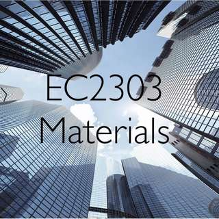 EC2303 Materials (Softcopy)