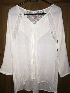 No Boundaries Cover Up / blouse