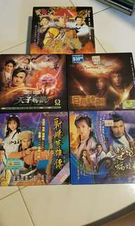 Assorted TVB VCD