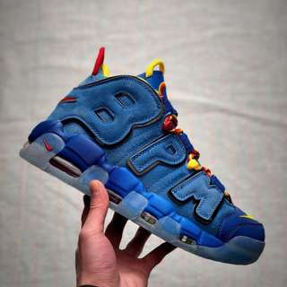 Nike Air More Uptempo Doernbecher 慈善限定 BPM 閃電