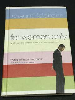 🚚 For women only by Shaunti Feldhahn