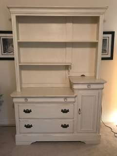 Shabby Chic Solid Wood Hutch