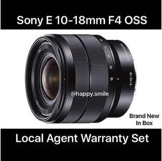 Sony Days ! Sony 10-18mm f4 OSS