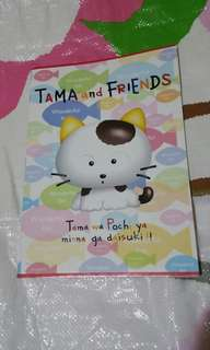 TAMA AND FRIENDS 猫 單行薄
