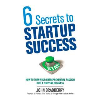 6 Secrets to Startup Success: How to Turn Your Entrepreneurial Passion Into a Thriving Business (256 Page Mega eBook)