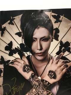 🚚 狂間King 台灣知名cosplayer 簽名海報 東京喰種 兄弟戰爭 Free