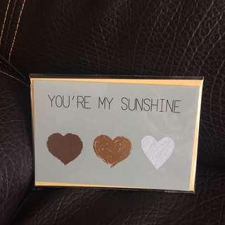 *全新* 生日卡 birthday card surprise card girlfriend boyfriend birthday 驚喜 情人 周年 anniversary 生日禮物