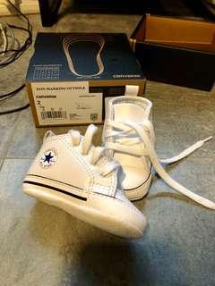 Converse Baby First Star Hi-White