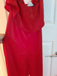 Brand new Red Jumpsuit