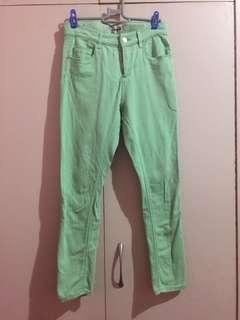 Topshop MOTO Colored Pants