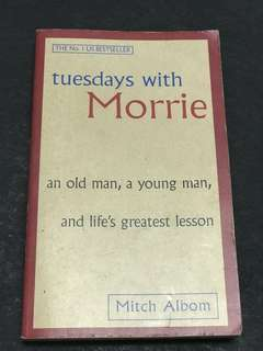 🚚 Tuesdays with morrie Mitch Albom