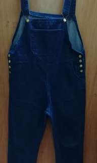 Long jeans jumpsuit