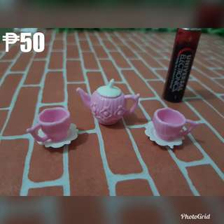teapot set for barbie