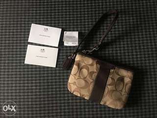 Authentic preloved coach wrislet