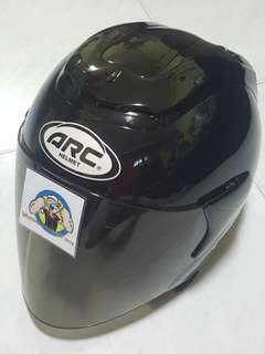 3006*** ARC RITZ BLACK V DARK Tinted Visor Helmet For Sale 😁😁Thanks To All My Buyer Support 🐇🐇 Yamaha, Honda, Suzuki