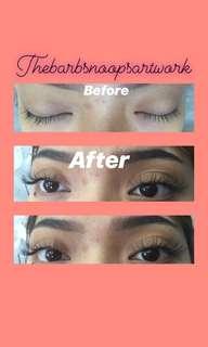 Eyelash extension D curl