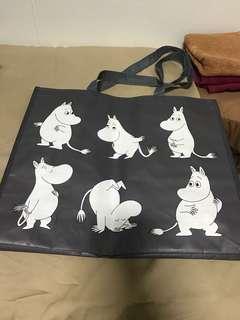 Grey moomin shopping bag