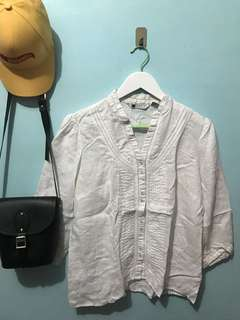 White detailed long-sleeves