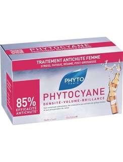 Phytocyane revitalizing serum for thinning hair