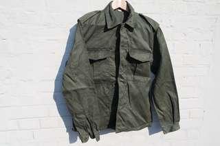 "Army jacket ""ABL"" Chanterie Belgium vintage 78's"