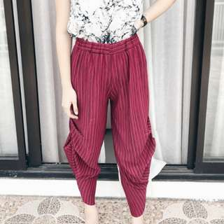 33 | Red Long Pants