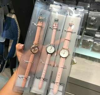 VNC watch jam tangan pink edition