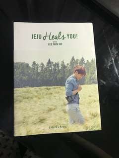 Innisfree lee min ho book & kpop