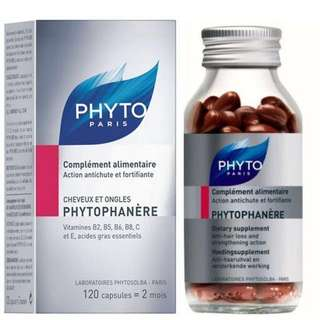 Phytophanere Hair and Nails supplement