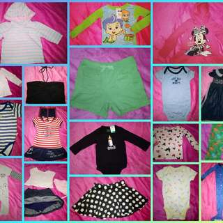 TAKE ALL 80PCS BRANDED PRELOVED KIDSWEAR FROM U.S BALE