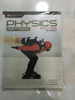 🚚 Physics Matters O level Physics Textbook