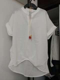 韓國新款白裇衫