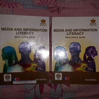 Media and Information Literacy SHS Textboom