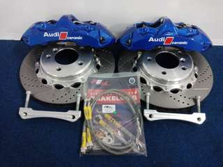 Brembo caliper Gt 6pot 355mm full set Front