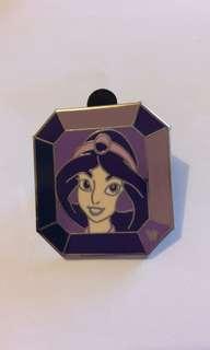 茉莉公主 princess jasmine 阿拉丁 正版迪士尼襟章