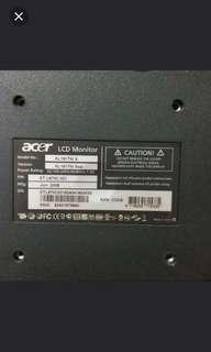 Acer電腦mon屏幕