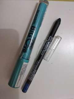 Big Eye Maskara & Electric Blue Eyeliner #freongkirjabotabek