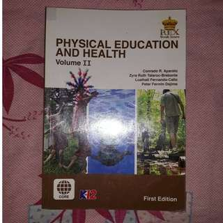 Physical Education and Health Vol. 2 Textbook SHS