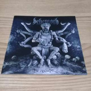 BEHEMOTH - THE APOSTASY (2007, CENTURY MEDIA, US)
