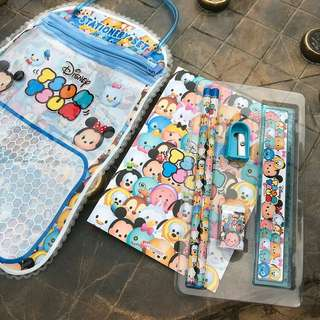 Tsum Tsum goodie bag - stationery set