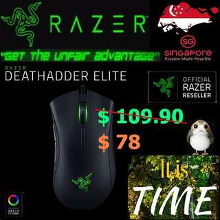 "Razer DeathAdder Elite. ( Offer till 15 July 2018...End ) ""2 Years Warranty"""