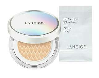 Laneige BB Cushion Whitening SPF 50+ Ivory