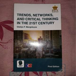 Trends, Networks, and Critical Thinking in the 21st Century SHS Textbook