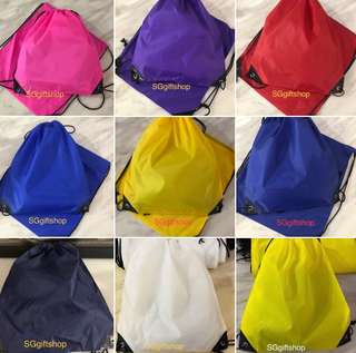 Assorted colors swimming drawstring bag- goody bag packages, goodie bag gift