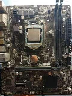 intel i3 4160 asrock h81m-hds LAG1150 DDR3