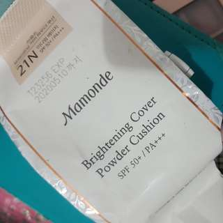 Mamonde brightening cover cushion